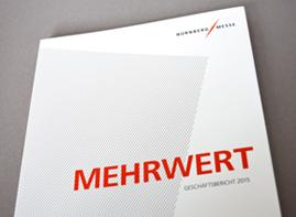 NürnbergMesse GmbH Geschäftsbericht 2015