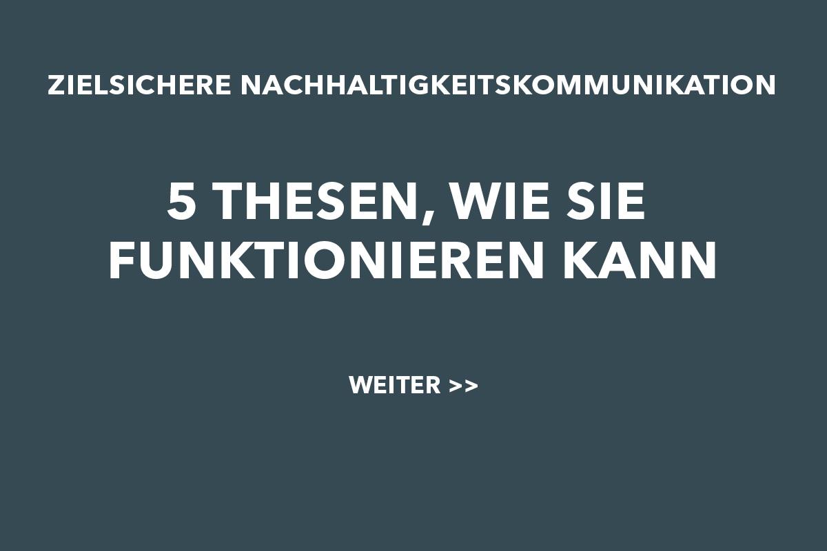5-Thesen-Nachhaltigkeitskommunikation