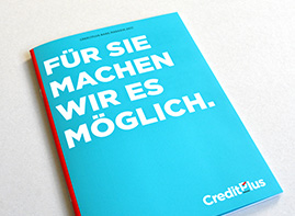 Creditplus Bank Magazin 2017