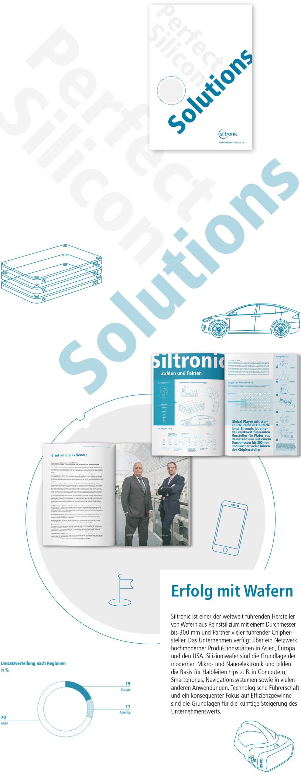 Siltronic Geschäftsbericht 2019