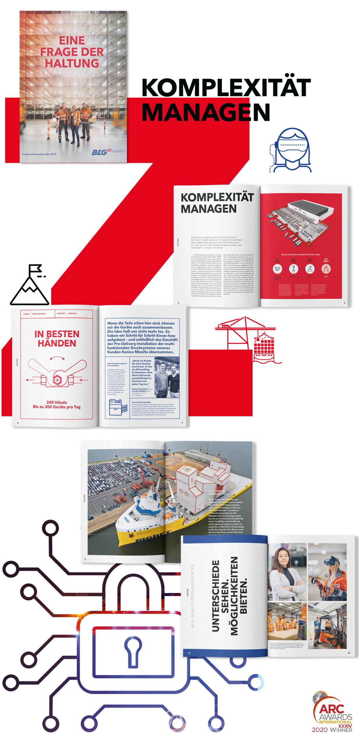 BLG Unternehmensbericht 2019
